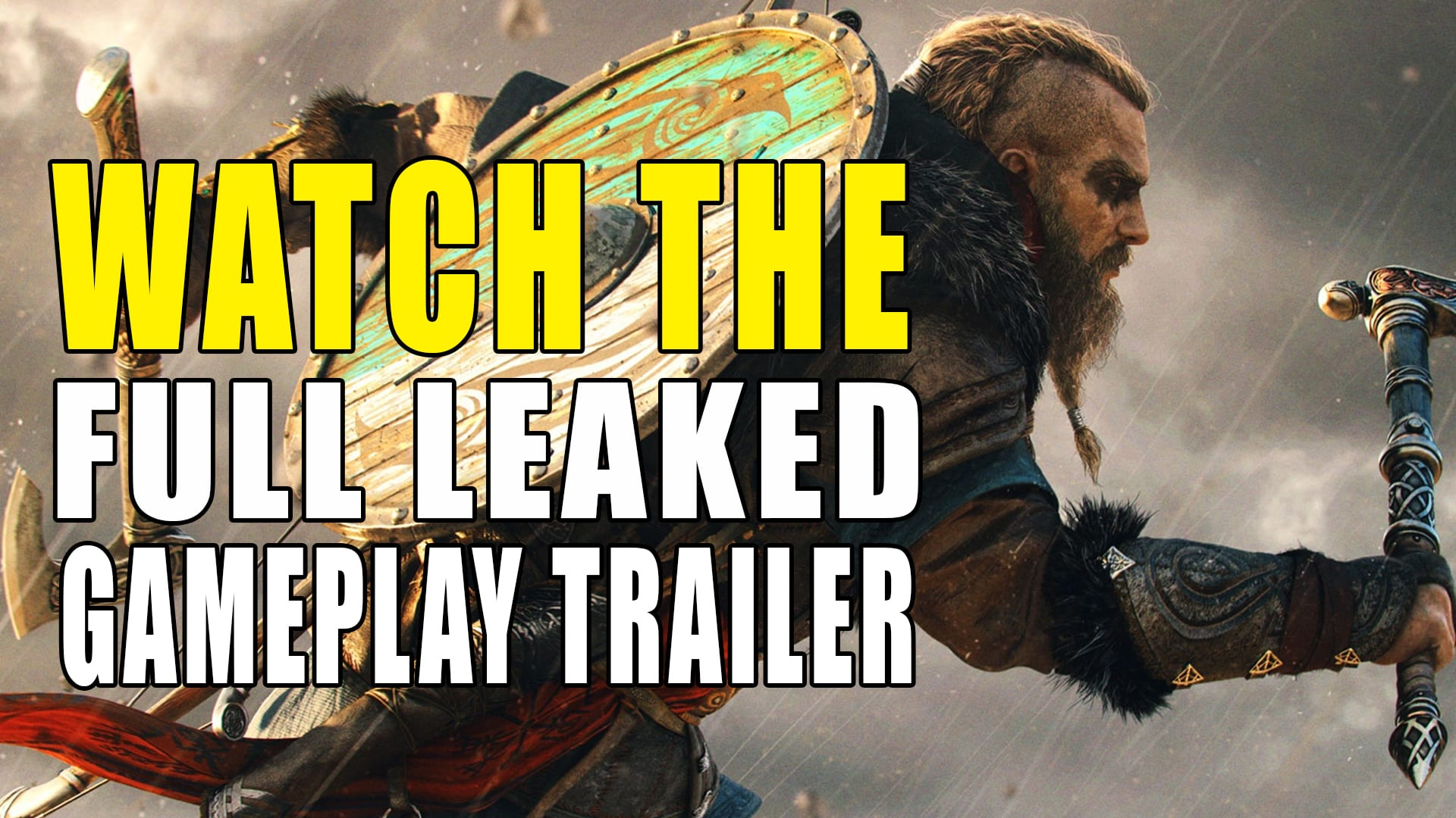 Full Assassin S Creed Valhalla Leaked Gameplay Trailer Gameclubz