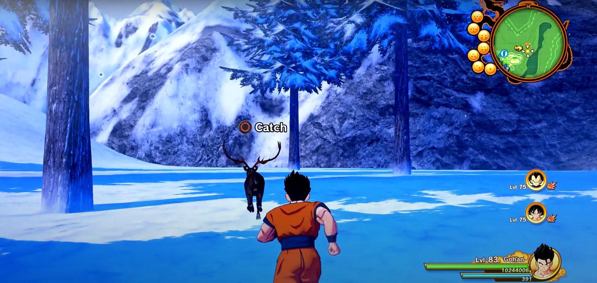 Dragon Ball Z Kakarot Reindeer Location