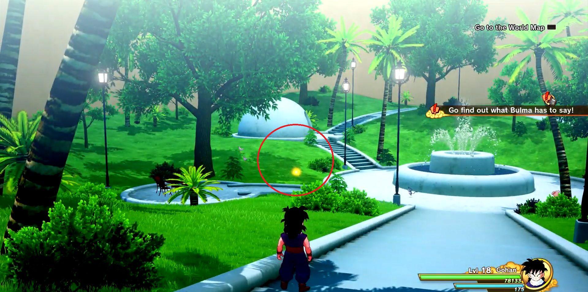 Dragon Ball Z Kakarot Eggs Location