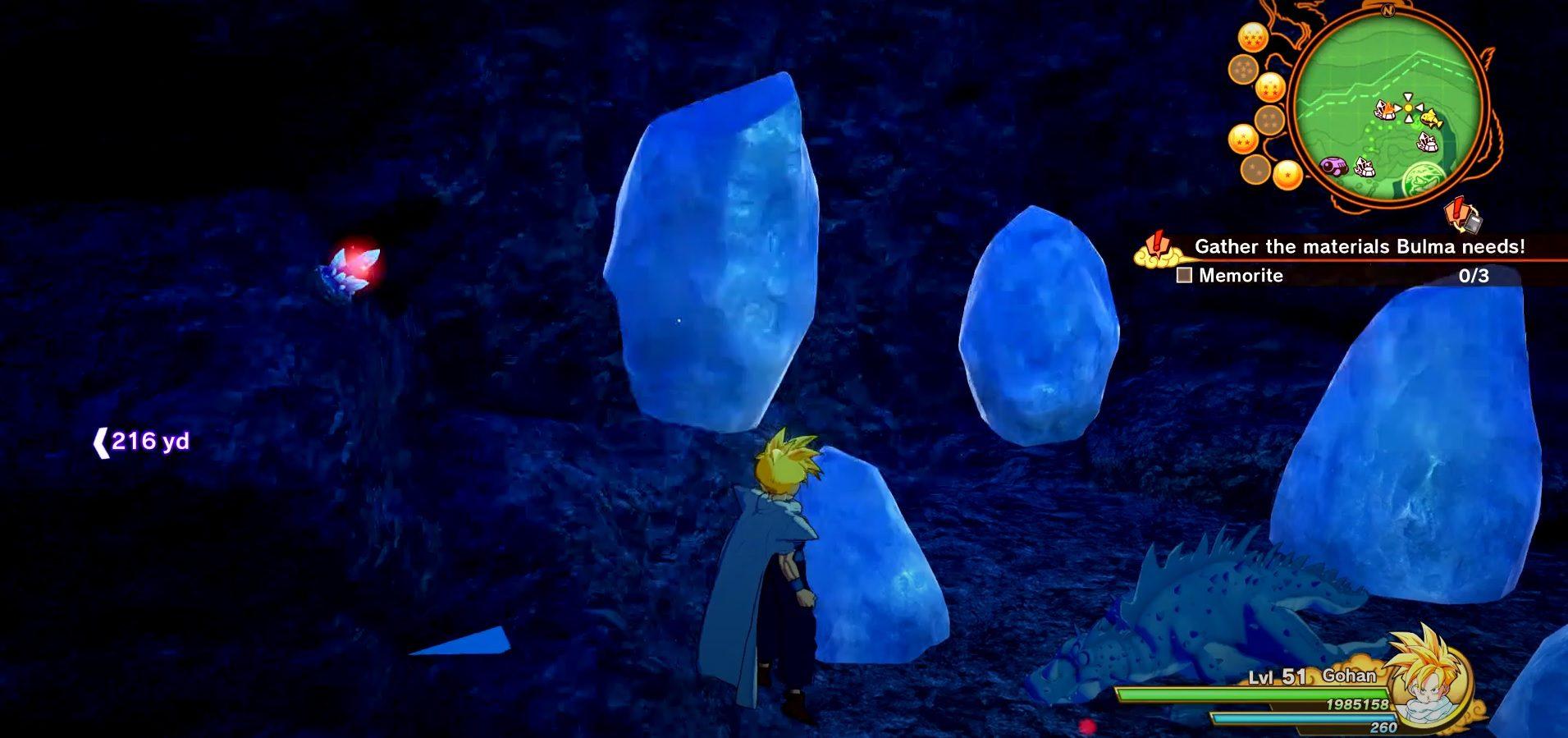 Dragon Ball Z Kakarot Frozen Rabbit Meat Location 2