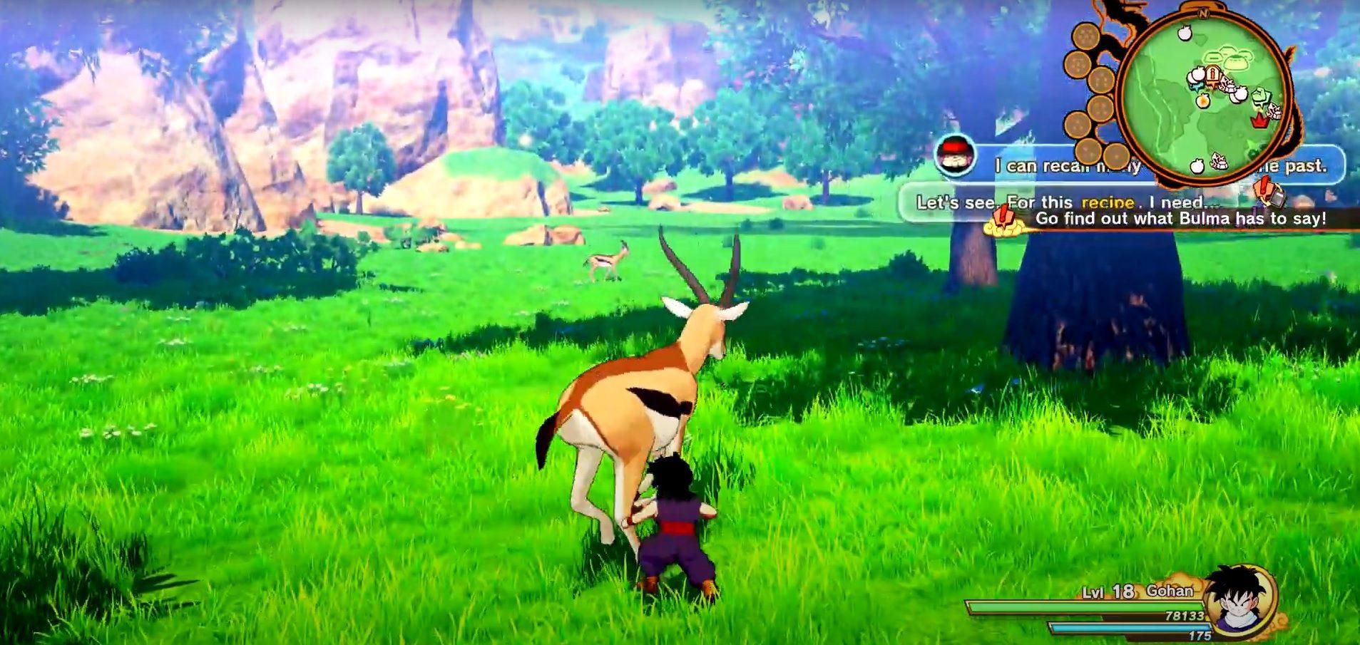 Dragon Ball Z Kakarot Gazelles Locations