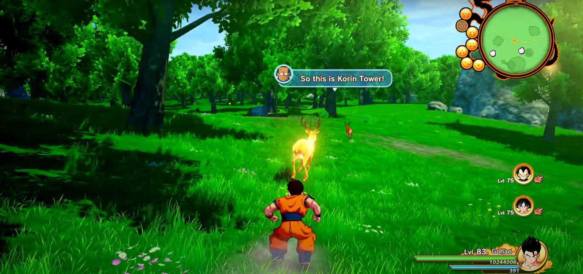 Dragon Ball Z Kakarot Premium Golden Deer Location