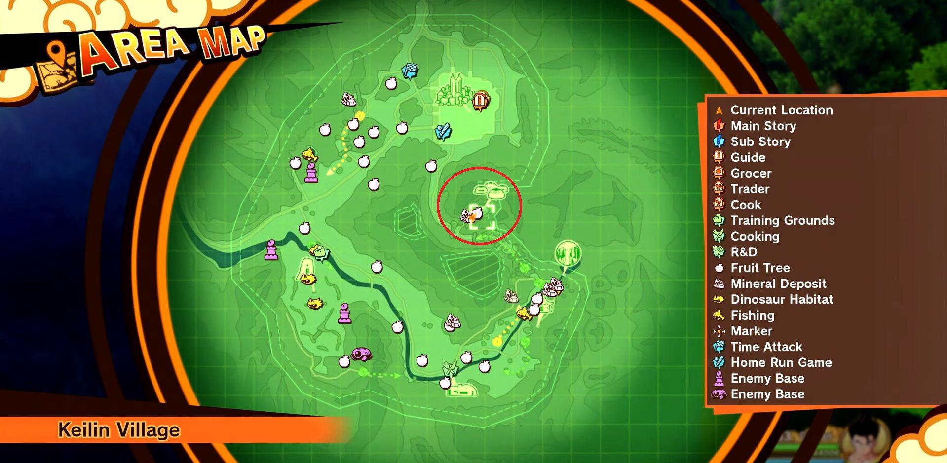 Dragon Ball Z Kakarot High-Quality Onions Farm Location 1