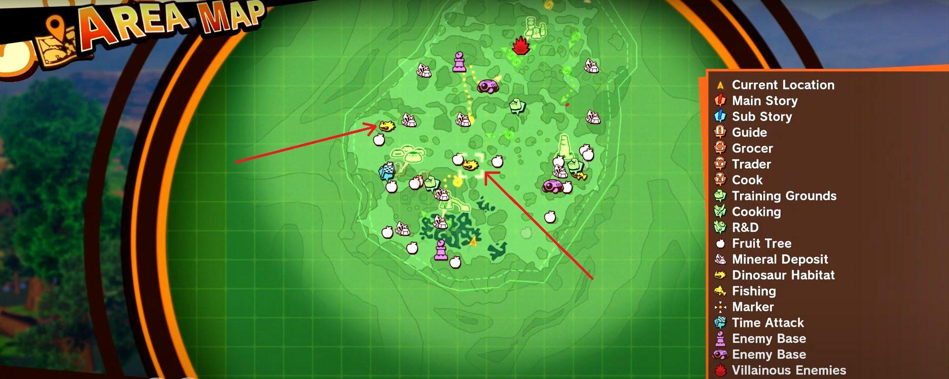 Dragon Ball Z Kakarot Prime Marbled Dino Meat Location 1