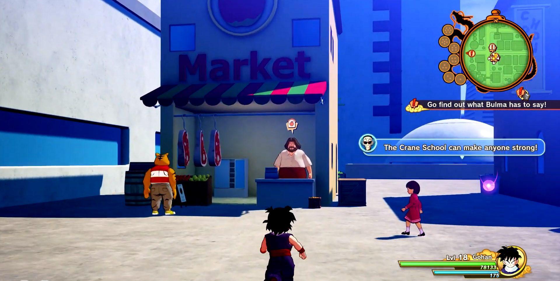 Dragon Ball Z Kakarot Where To Buy Carrots