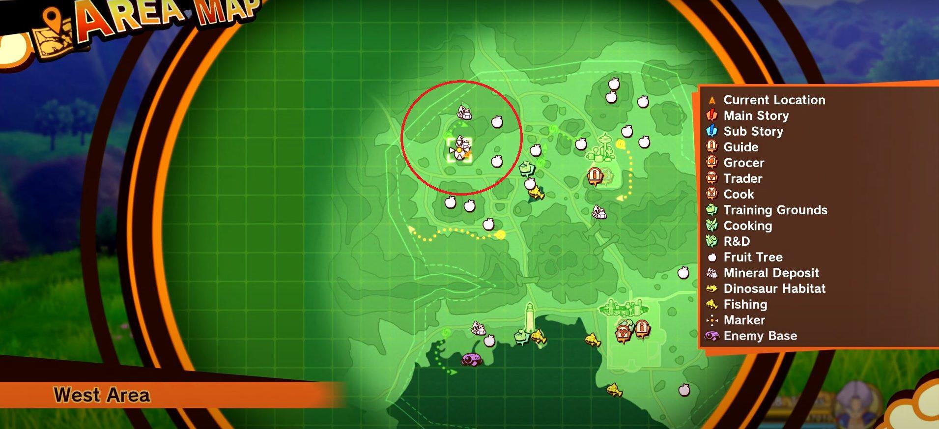 Dragon Ball Z Kakarot Wolf Meat Location 1