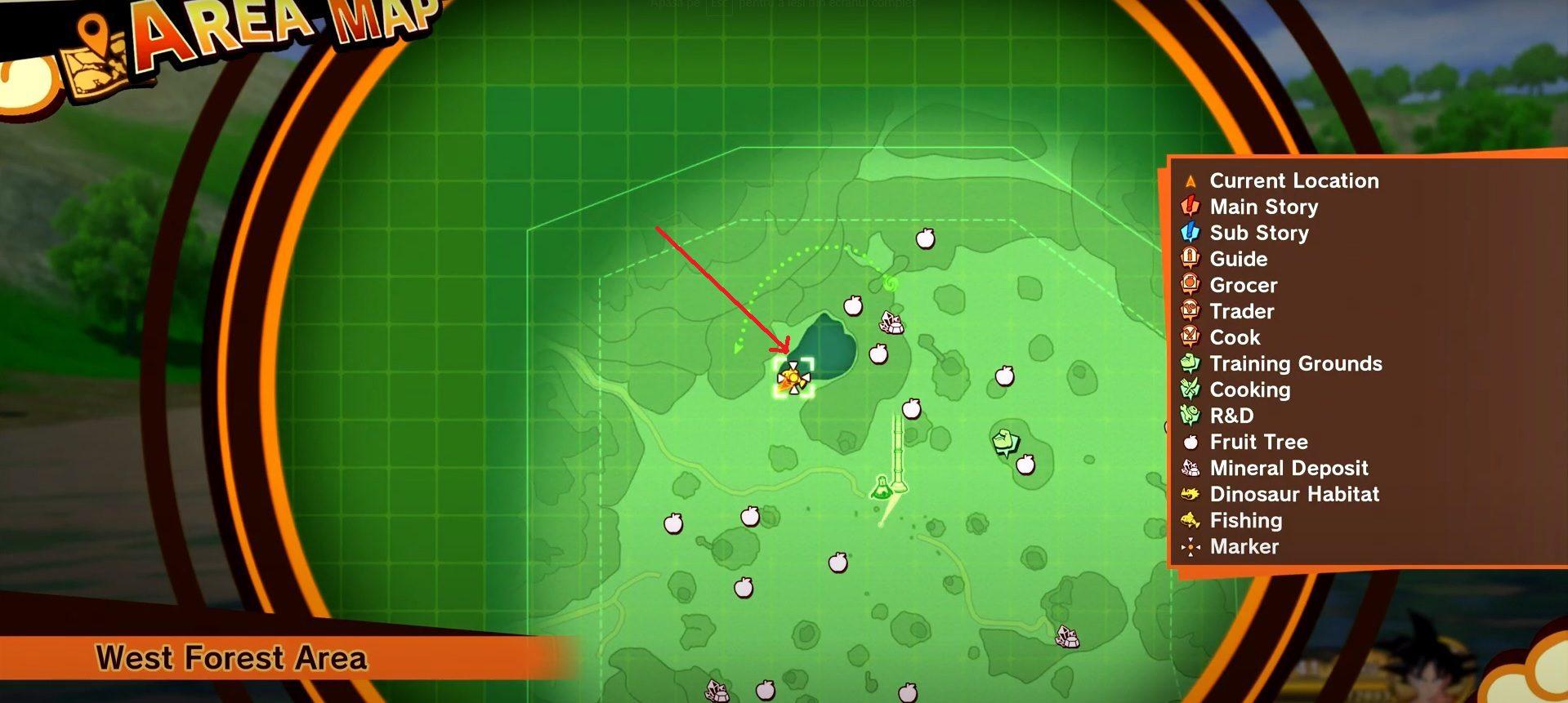 Dragon Ball Z Kakarot Goliath Catfish Locations