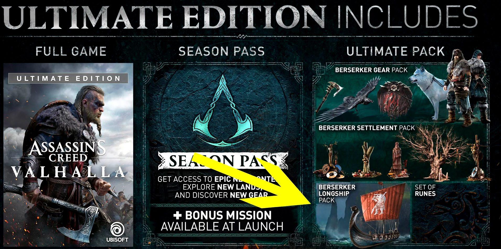 Assassin's Creed Valhalla Berserker Longship Pack