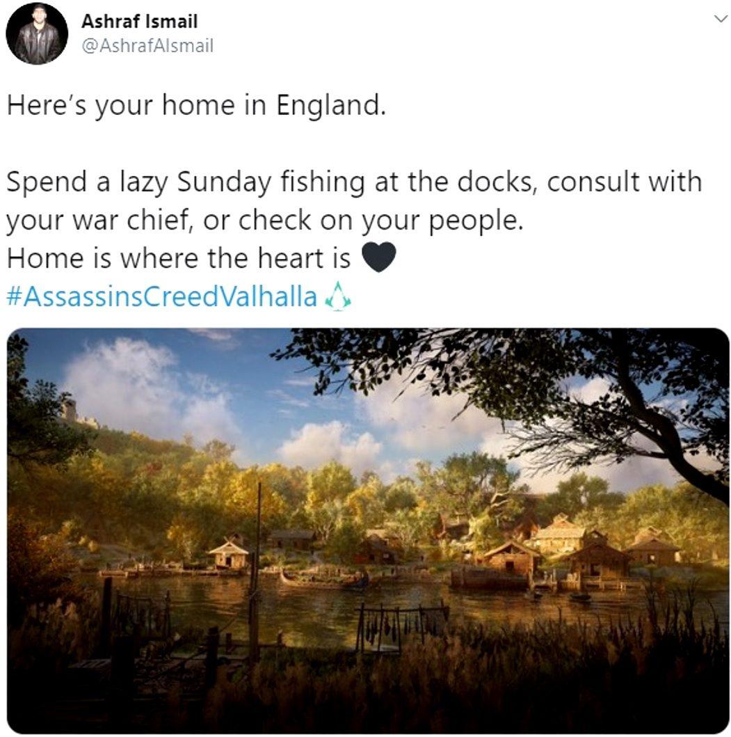 Assassin's Creed Valhalla Fishing Dock