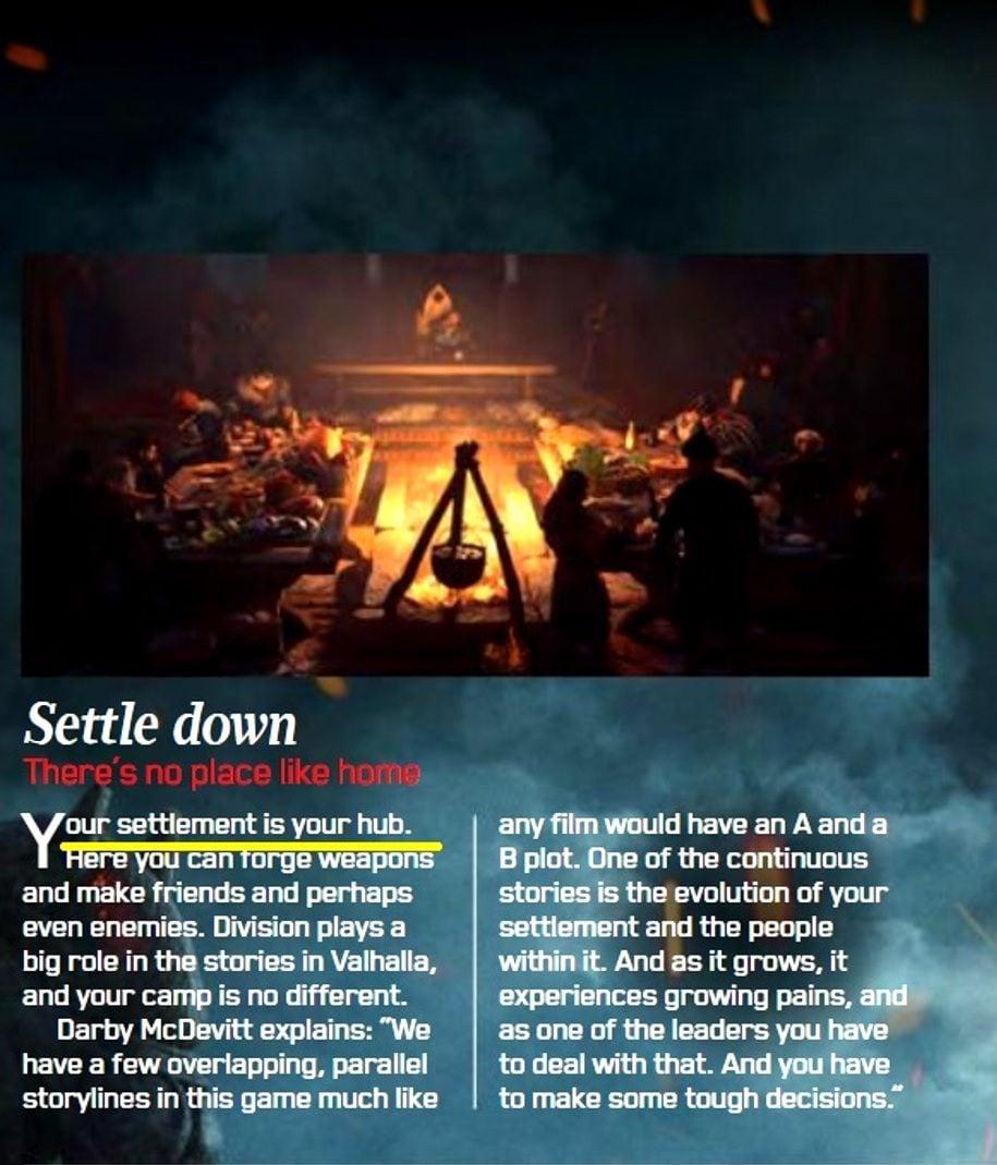 Assassin's Creed Valhalla Settlements