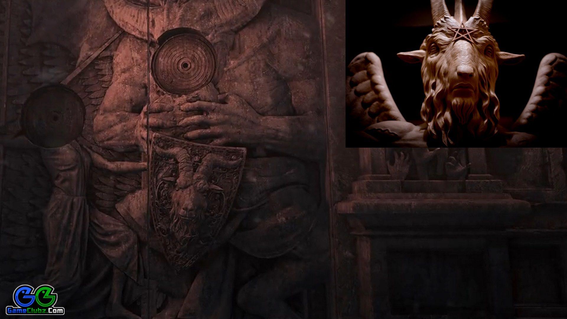 Resident Evil 8 Village Secrets Goats Goat Heads Gameclubz