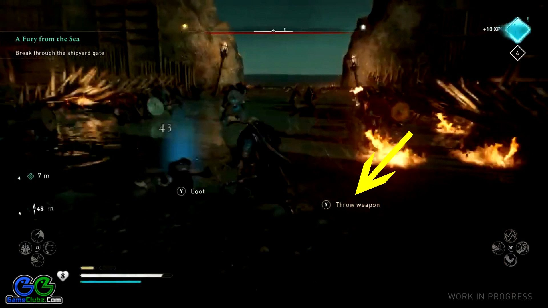 Assassin's Creed Valhalla Throwing Weapons