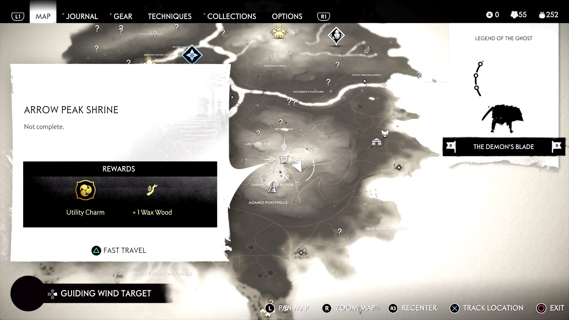 Ghost of Tsushima Charm of Inari Location