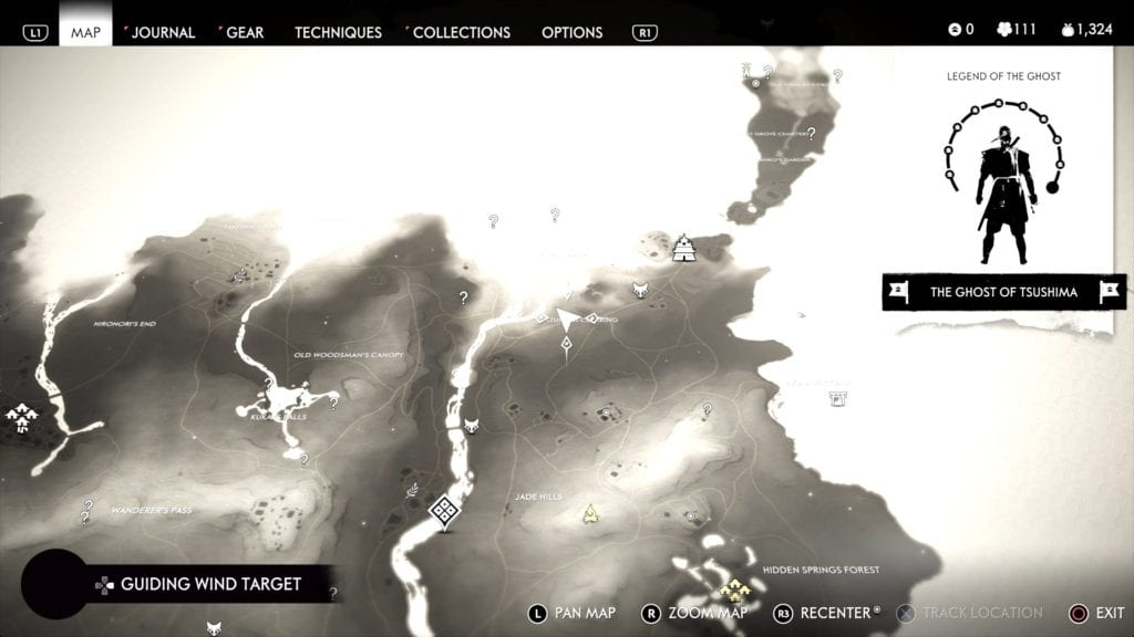 Ghost of Tsushima Hidden Altar 11 Location Map