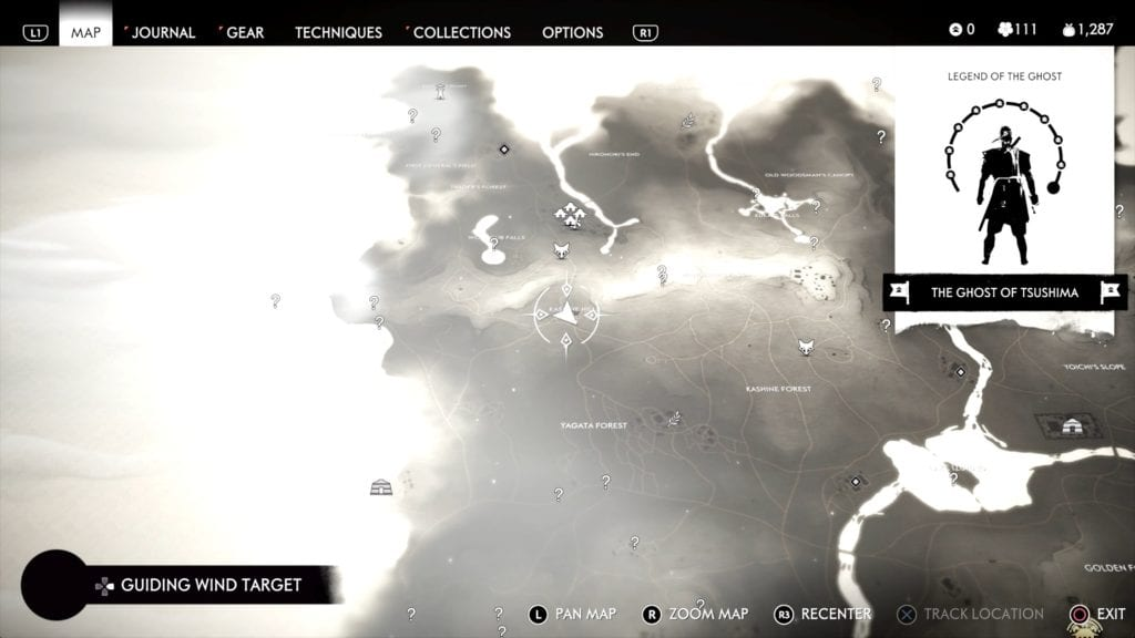 Ghost of Tsushima Hidden Altar 4 Location Map