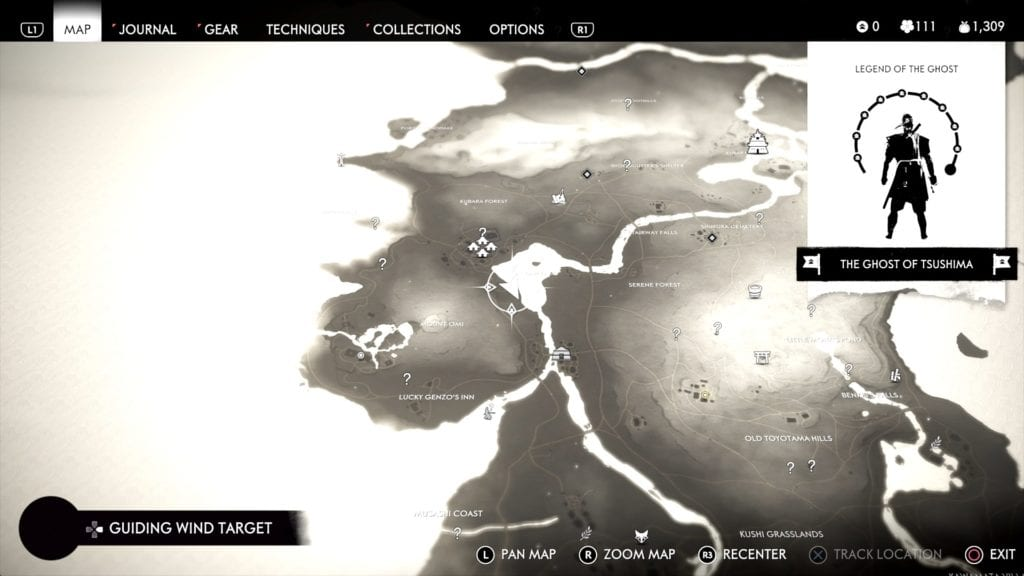 Ghost of Tsushima Hidden Altar 7 Location Map