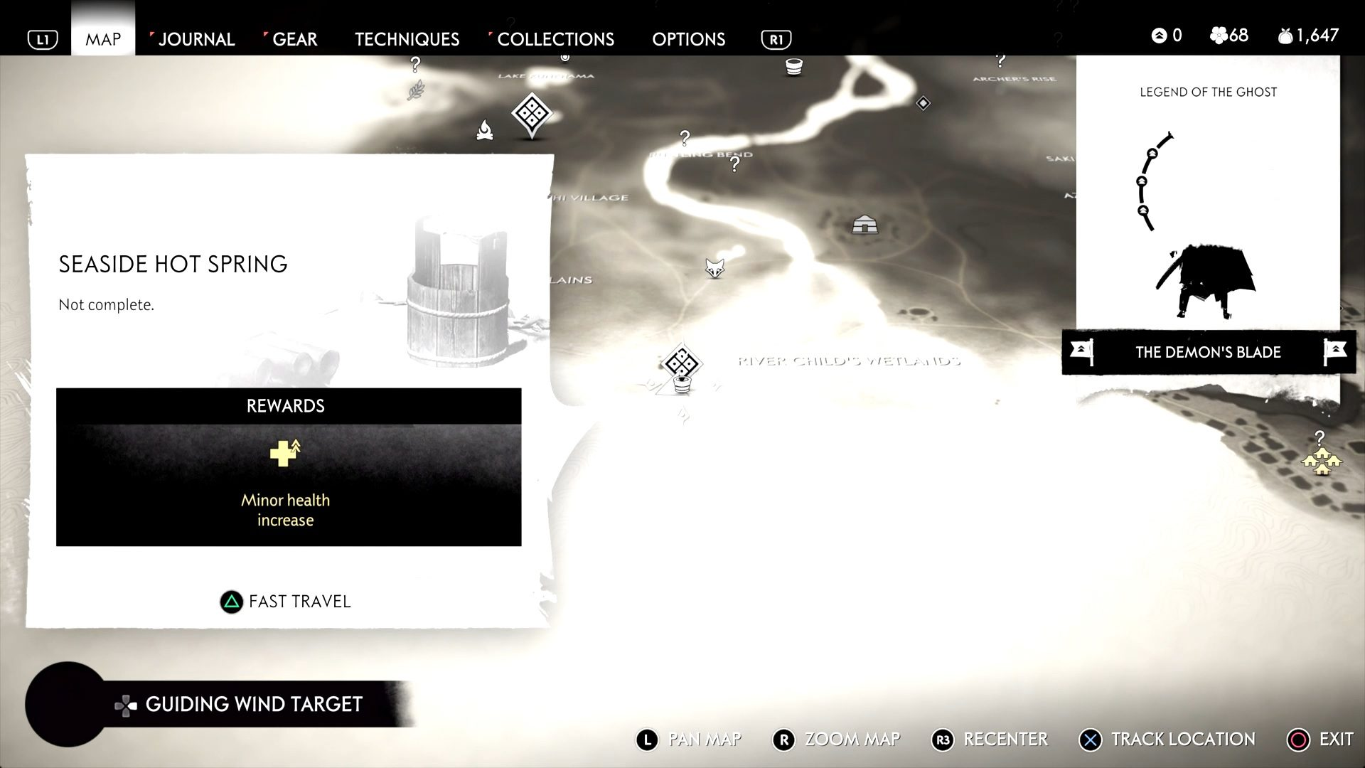 Ghost of Tsushima Seaside Hotspring Location Guide