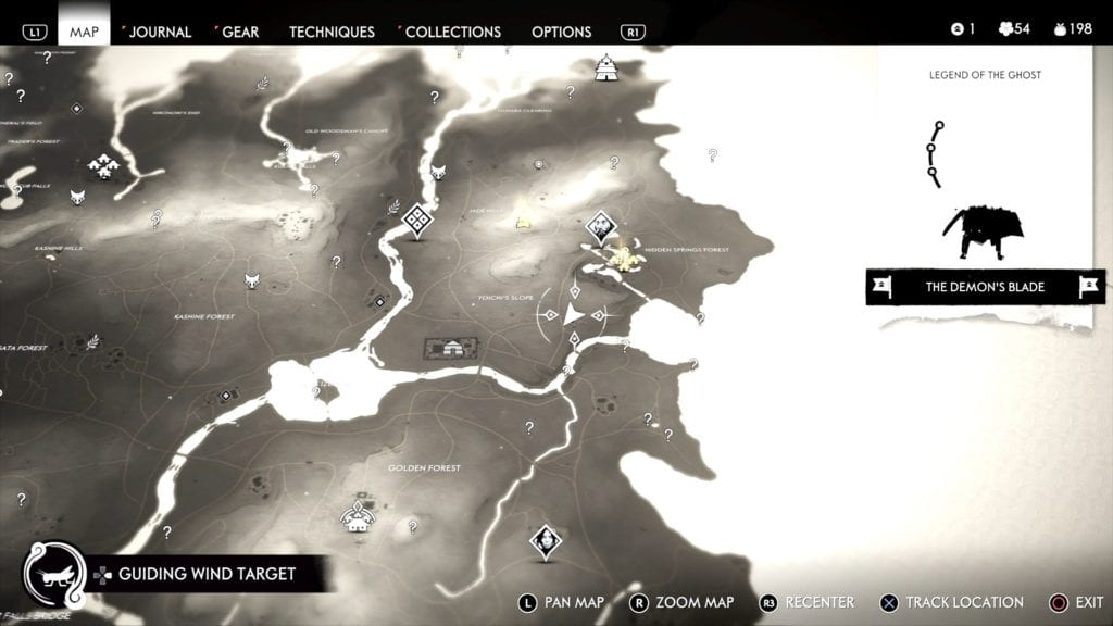 Ghost of Tsushima Singing Cricket 7 Location Map