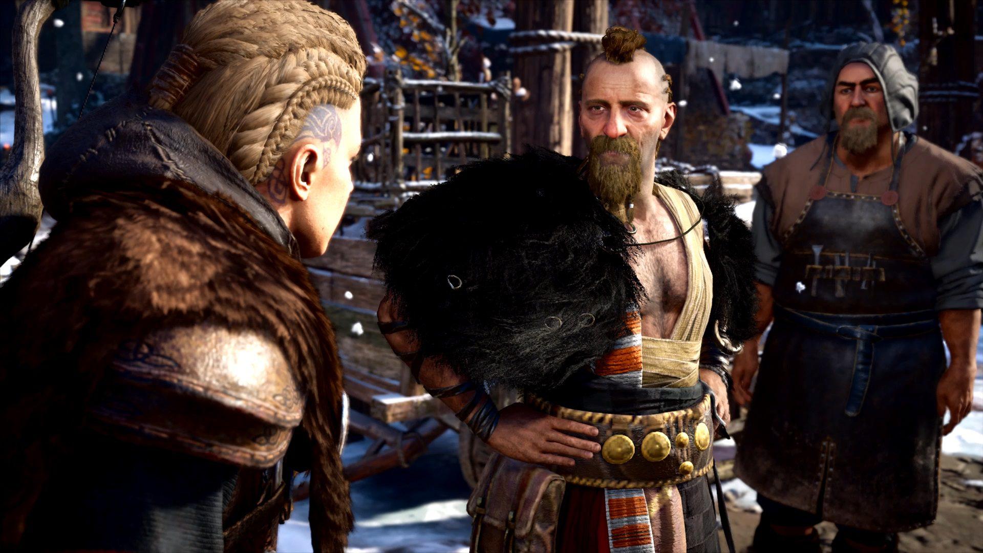 Assassin's Creed Valhalla Manning Fighter Of Wolves Flyting