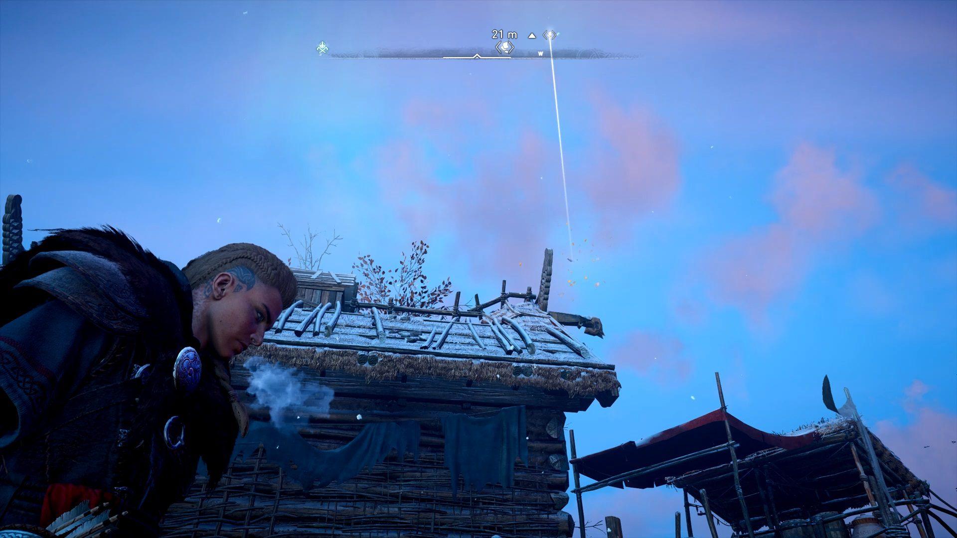 Assassin's Creed Valhalla Rygjafylke Flying Paper Location 2