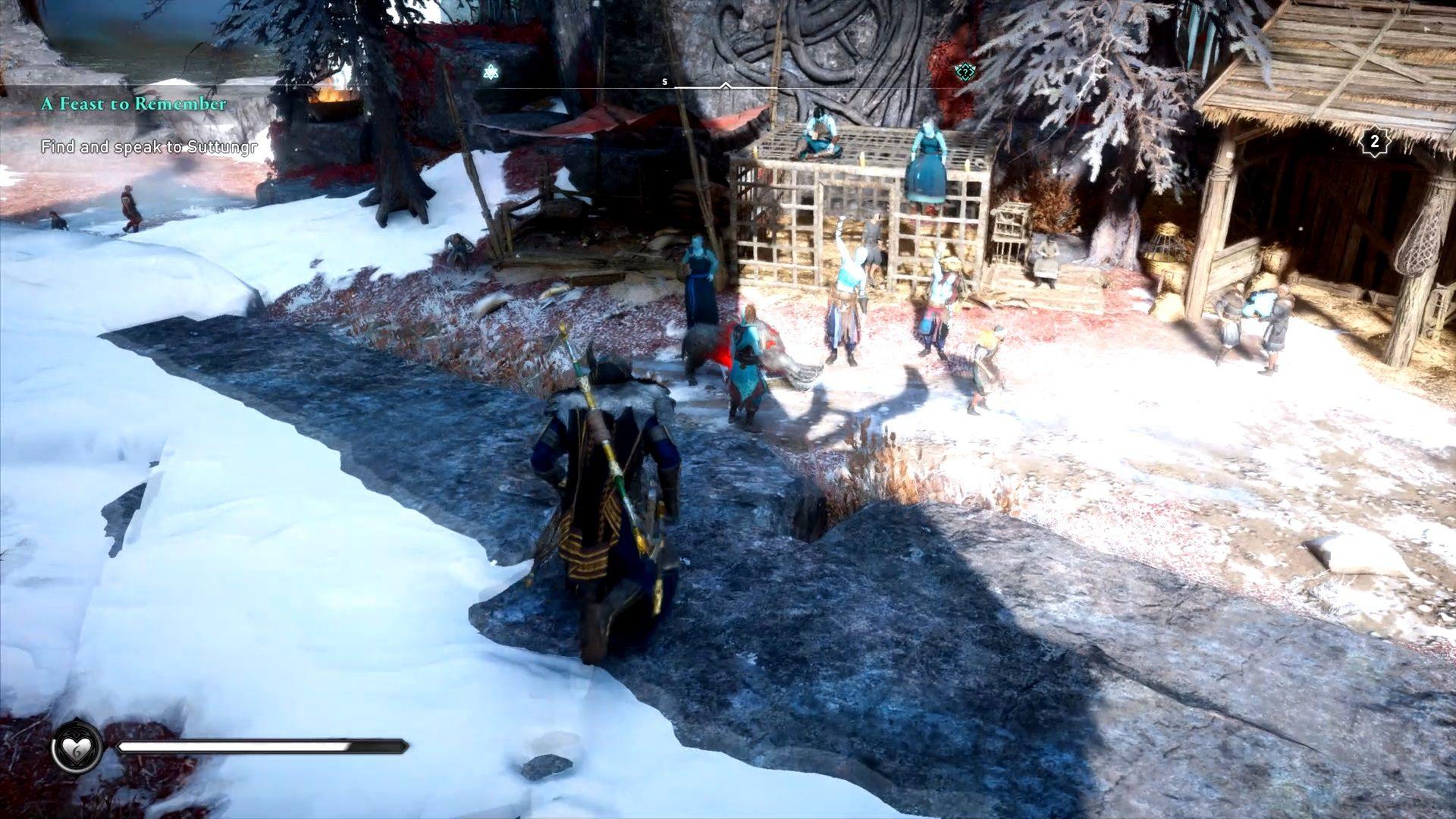 Assassin's Creed Valhalla Aegir's Daughters Event Clue