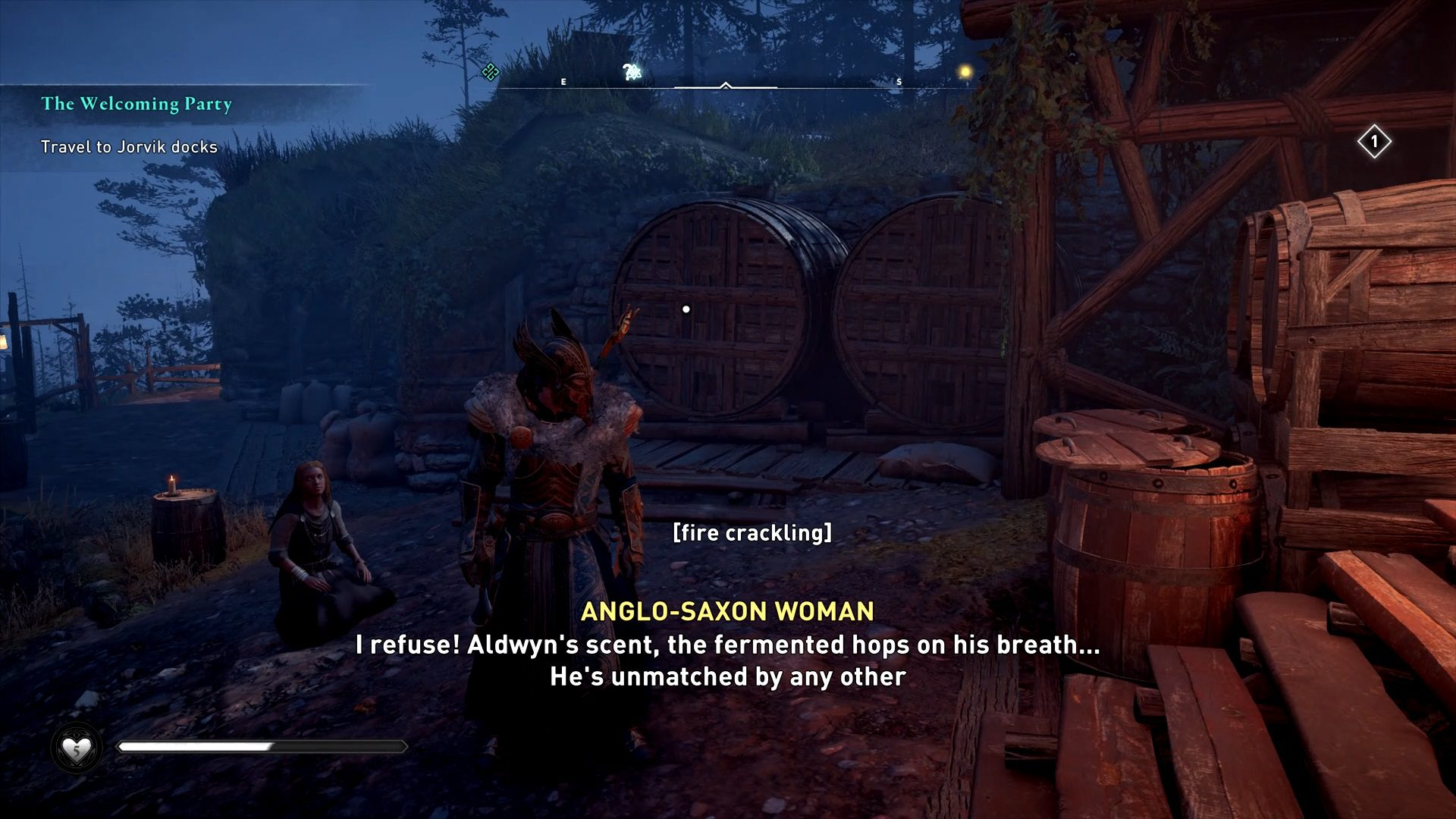 Assassin's Creed Valhalla Aldwin Anglo Saxon Woman Muse