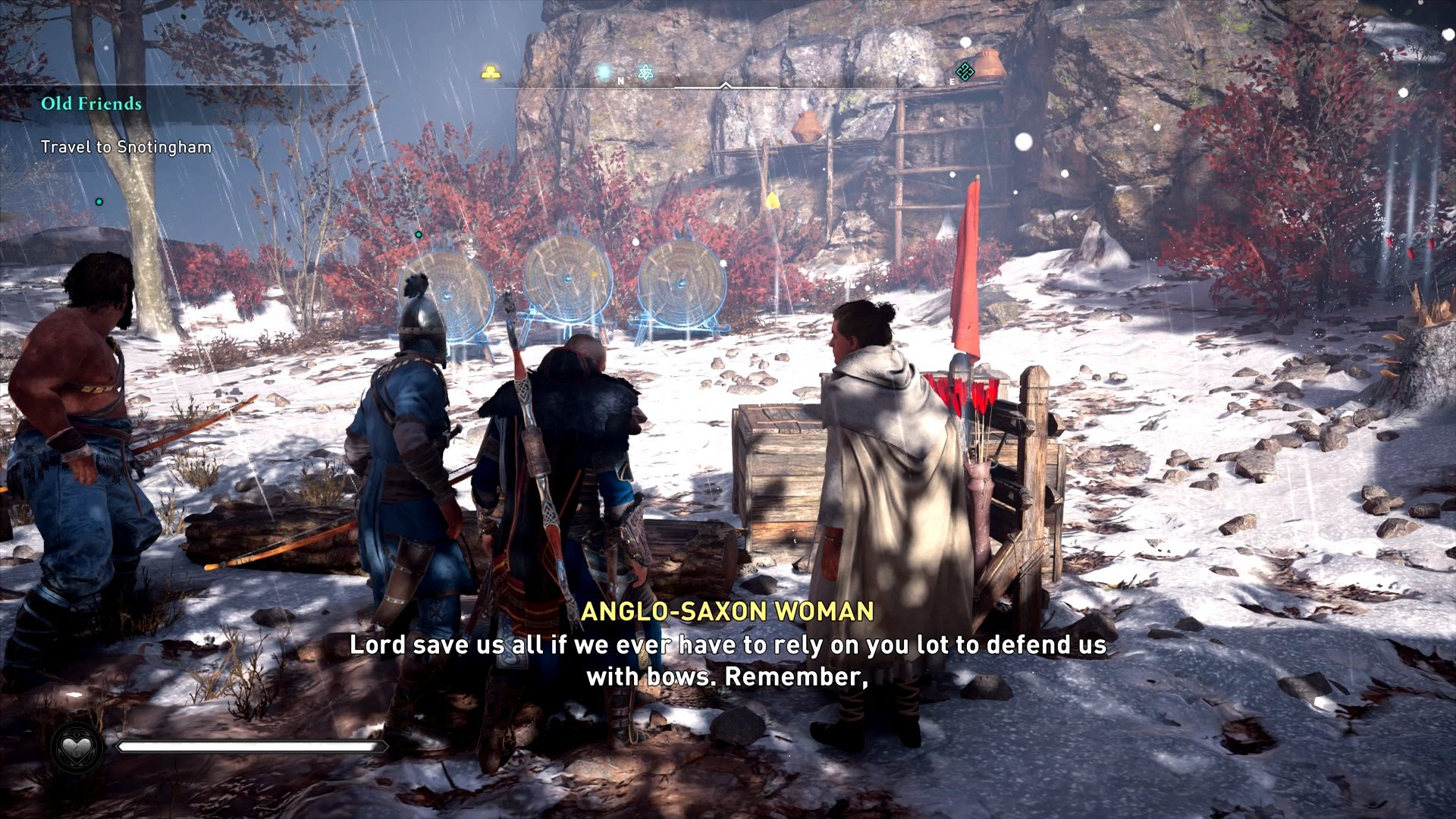 Assassin's Creed Valhalla Archers Training Camp Mystery