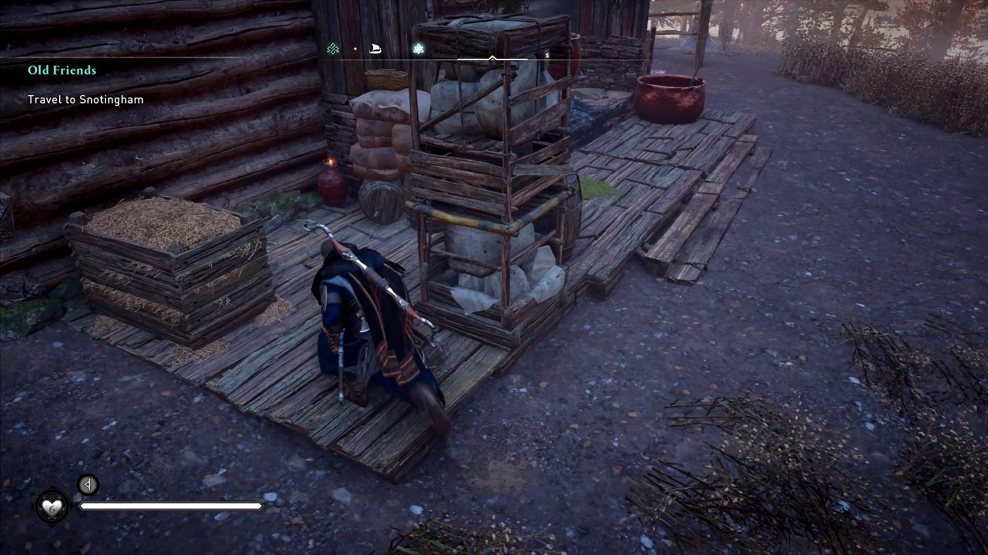 Assassin's Creed Valhalla Burning Family Cart Quest