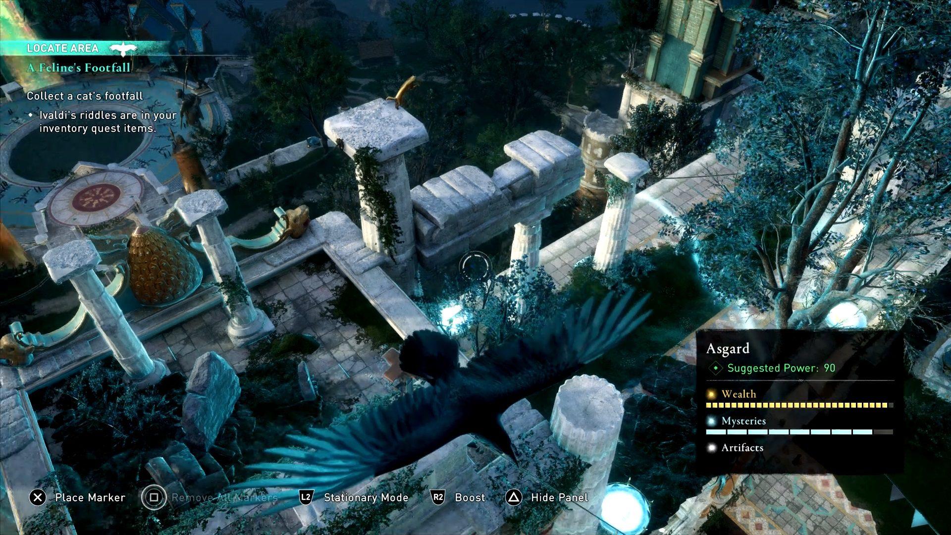 Assassin's Creed Valhalla Cat Footfall Location