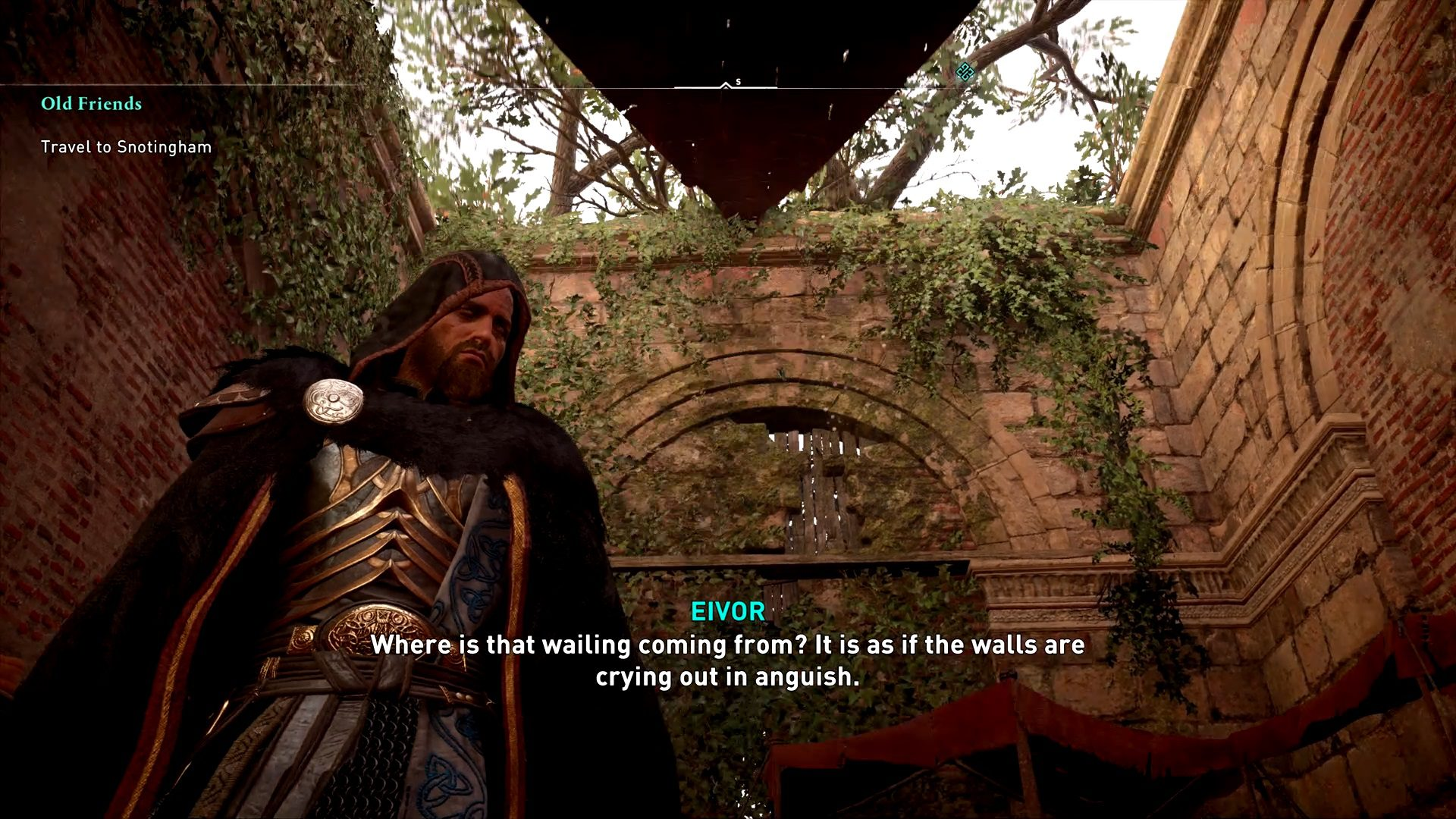 Assassin's Creed Valhalla Grieving Man World Event