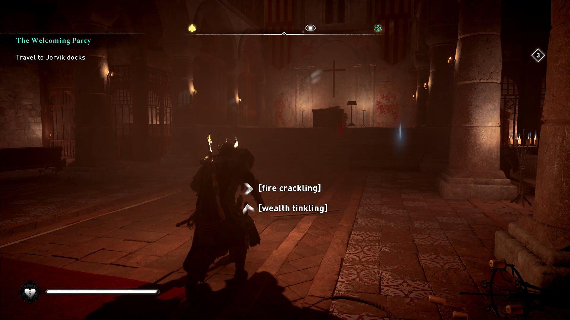 Assassin's Creed Valhalla Jorvik Treasure Hoard Map Location