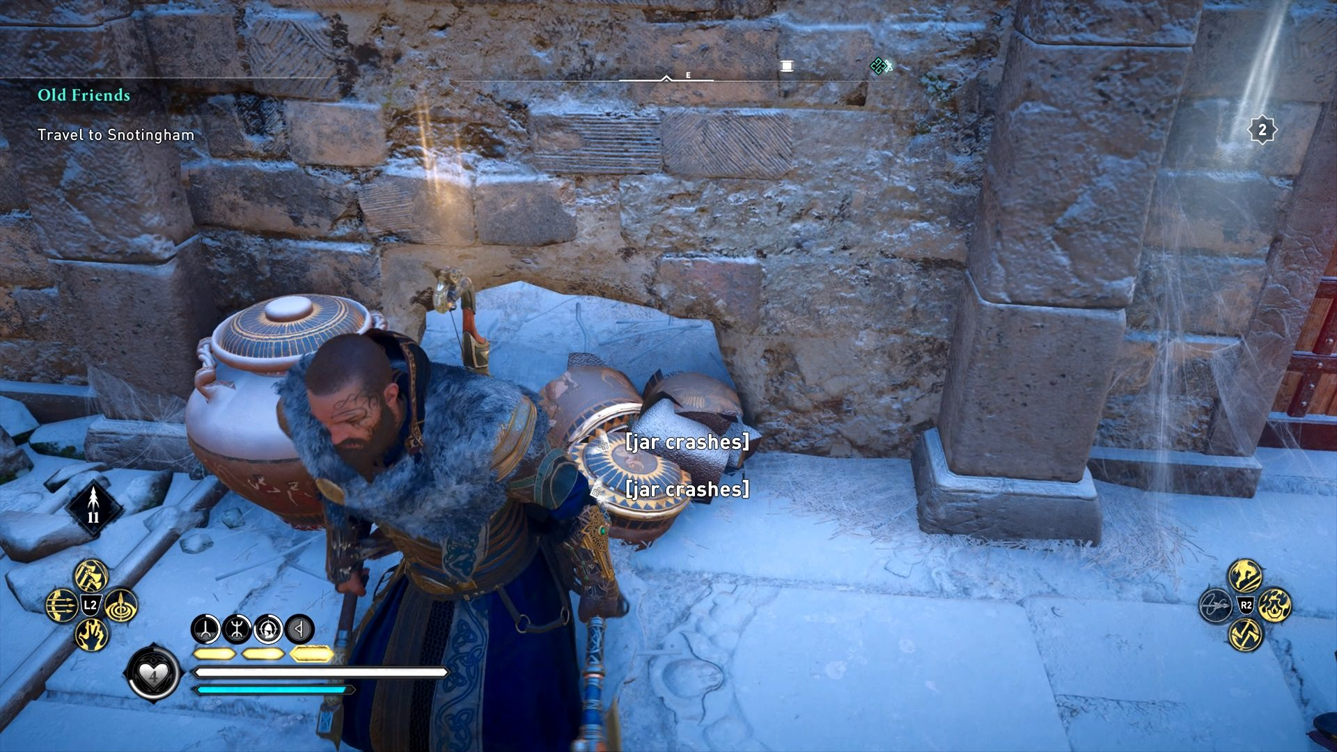 Assassin's Creed Valhalla Snotinghamscire Hoard Map