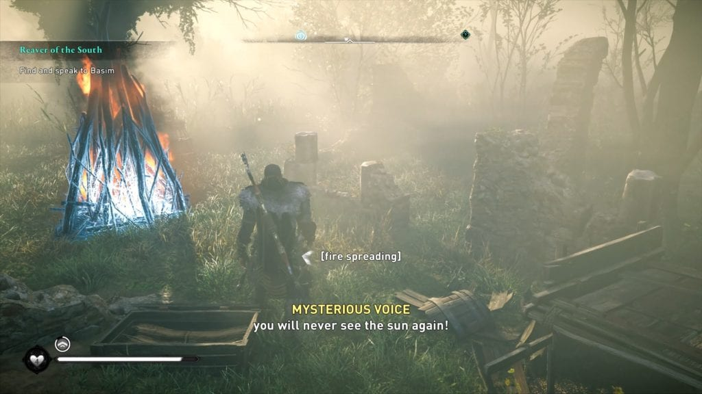 Assassin's Creed Valhalla Mysterious Voice Location