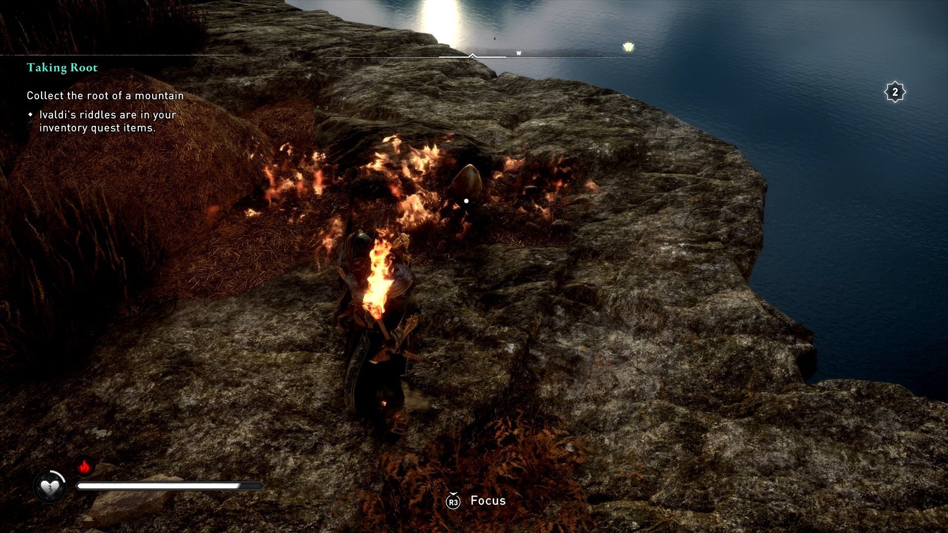 Assassin's Creed Valhalla Root Of A Mountain How To Warm Seed