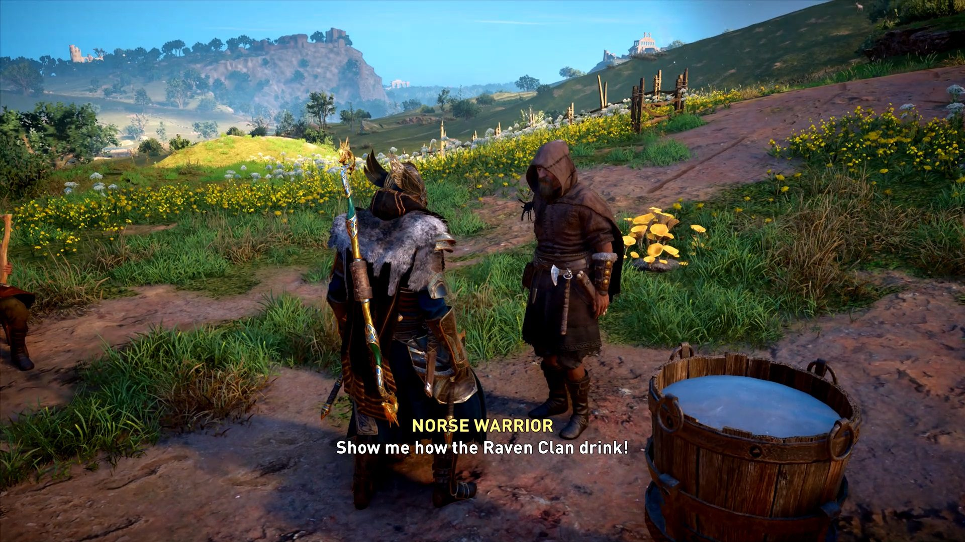 Assassin's Creed Valhalla Saxon Bard World Event Mystery Guide