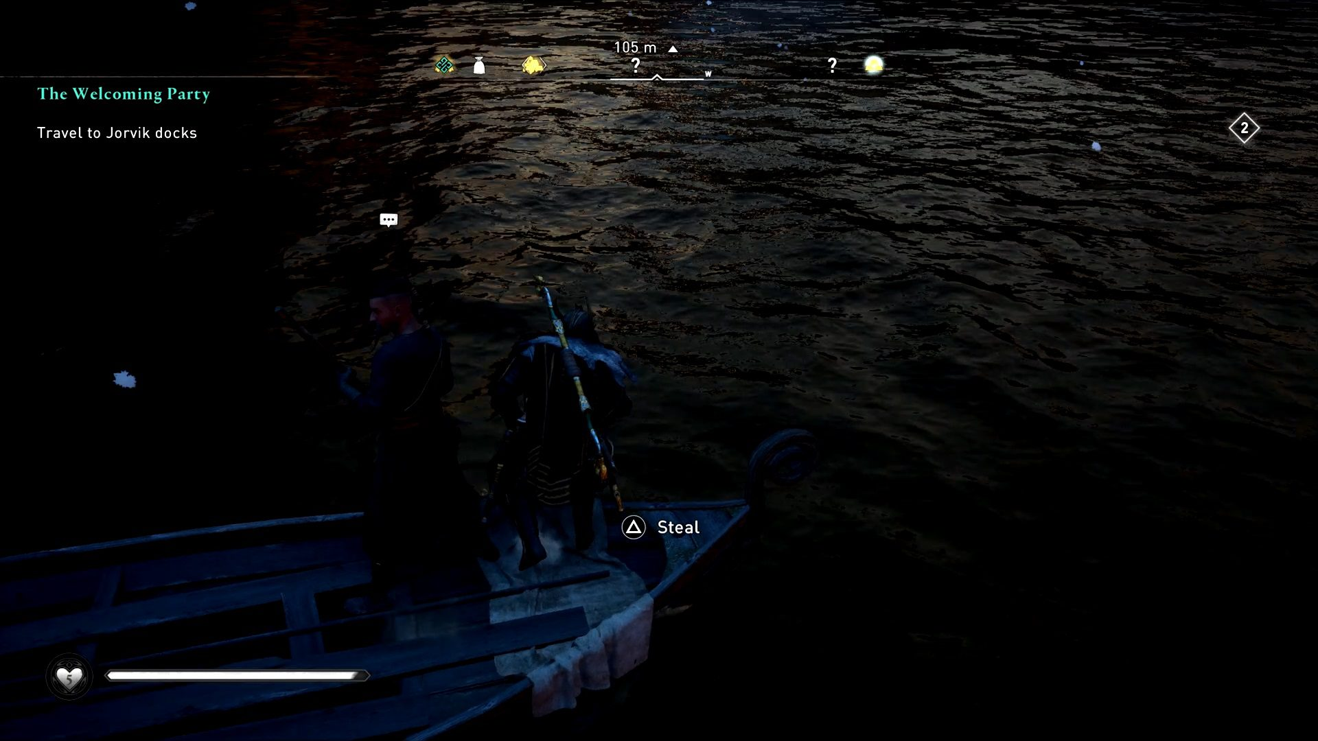 Assassin's Creed Valhalla Unbaptized Man How To scare