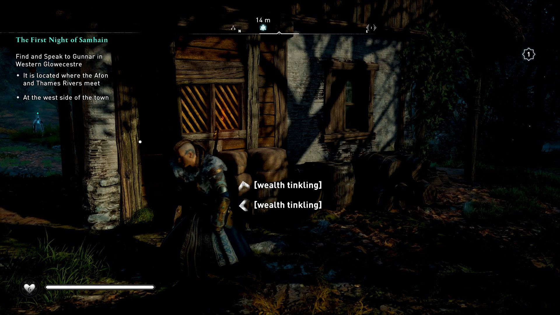 Assassin's Creed Valhalla Unlock Strange Woman House