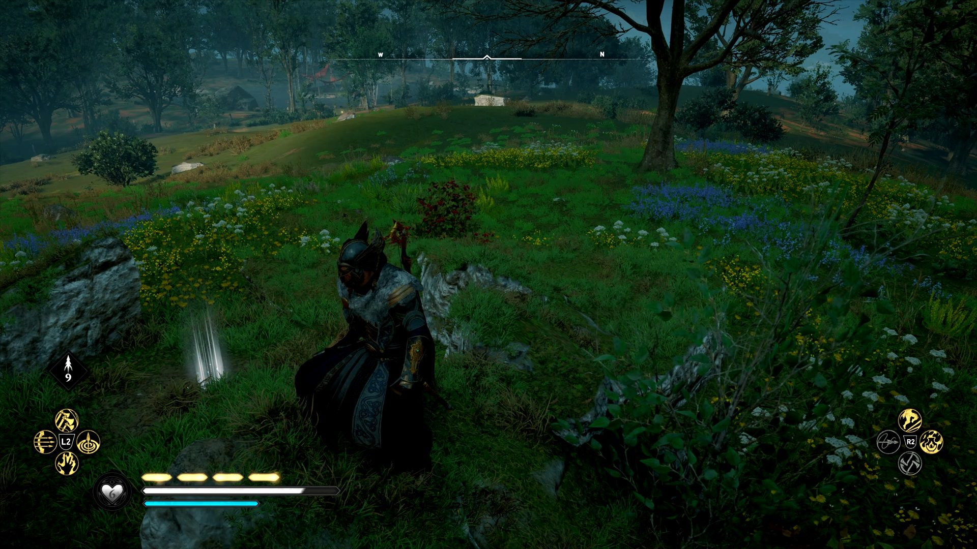 Assassin's Creed Valhalla Wincestre Bishopric Hoard Map Treasure Location