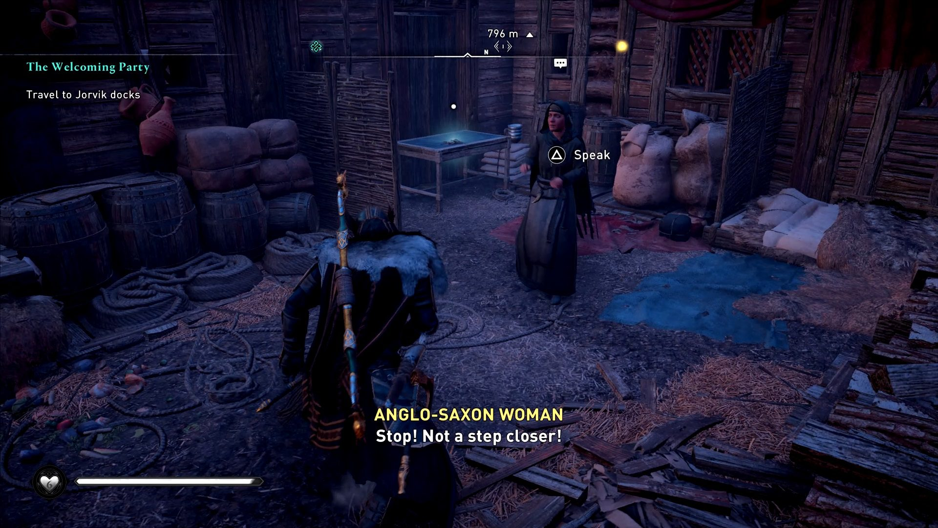 Assassin's Creed Valhalla Withering Anglo Saxon Woman Village