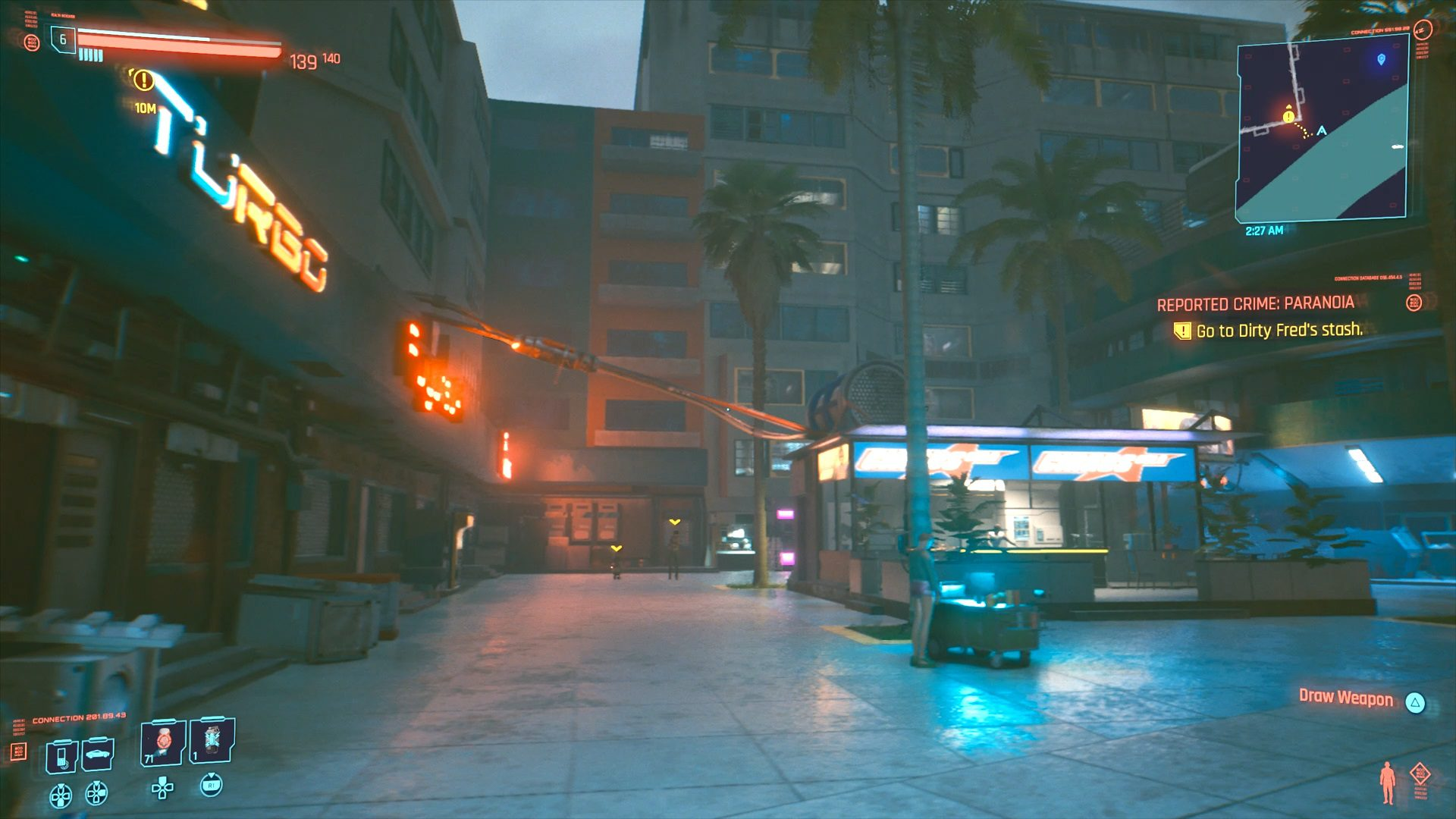 Cyberpunk 2077 Dirty Fred's Stash Location Guide