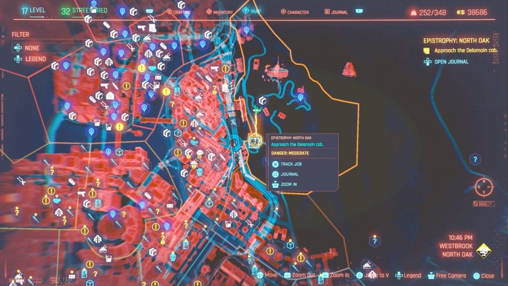 Cyberpunk 2077 Epistrophy North Oak Job Guide