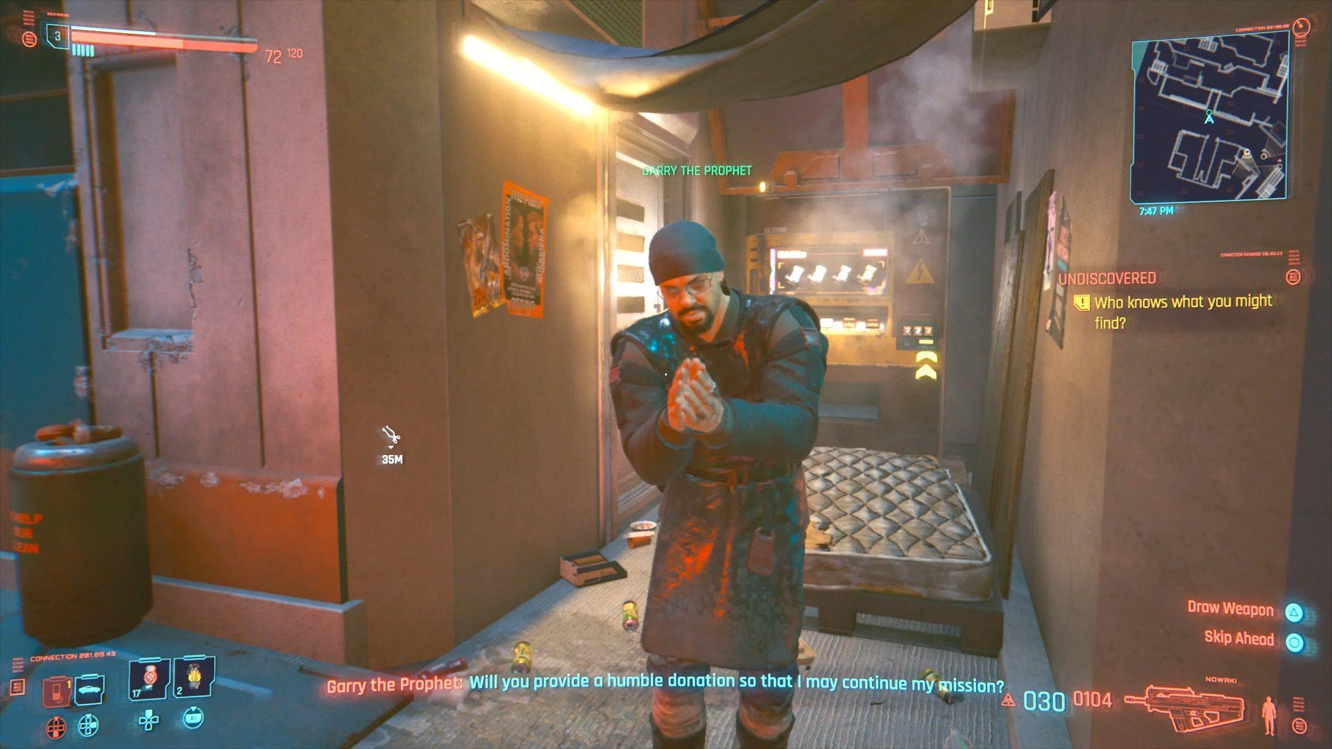 Cyberpunk 2077 Garry The Prophet CohhCarnage Location