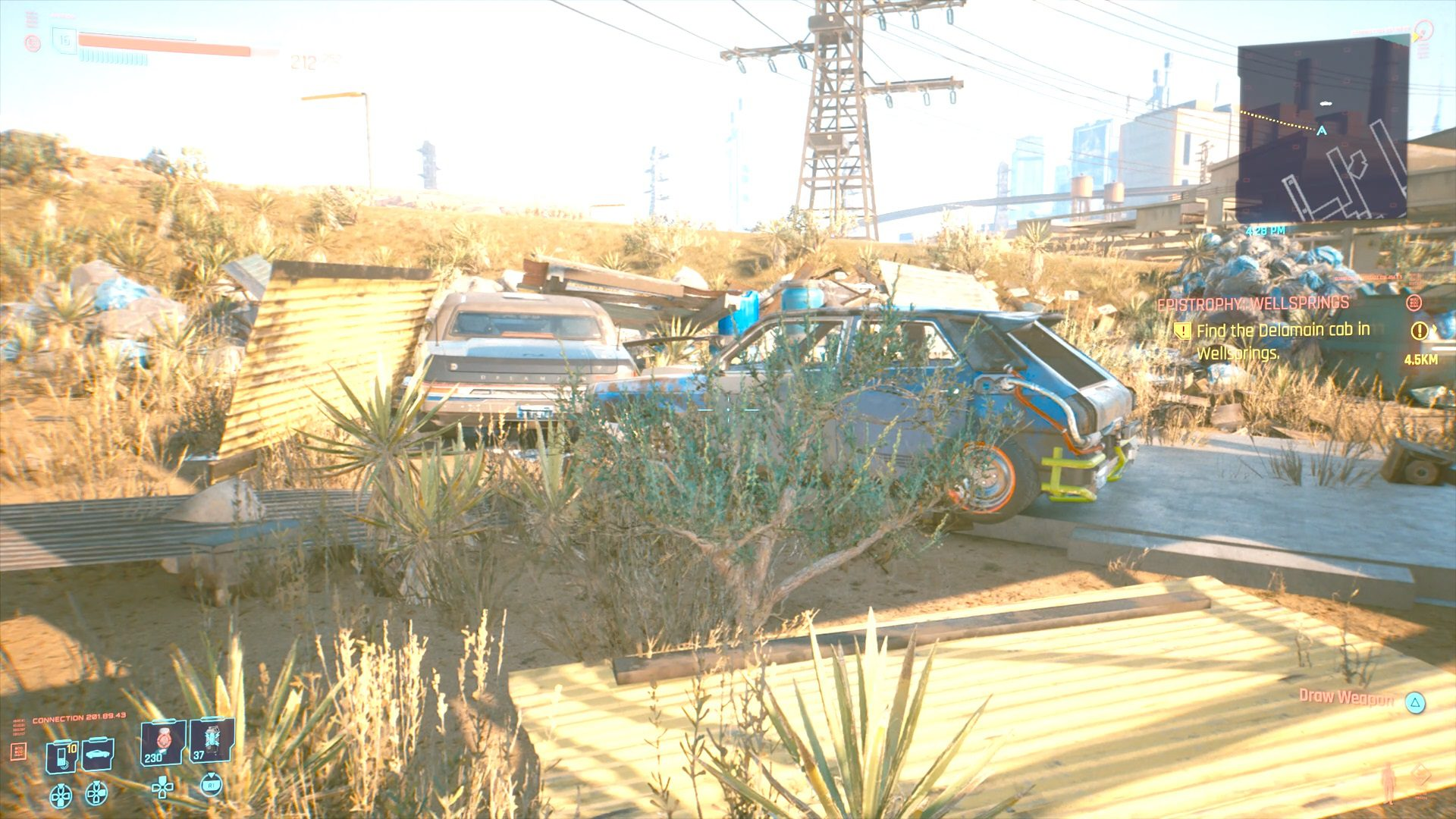 Cyberpunk 2077 Hidden Northside Delamain Cab