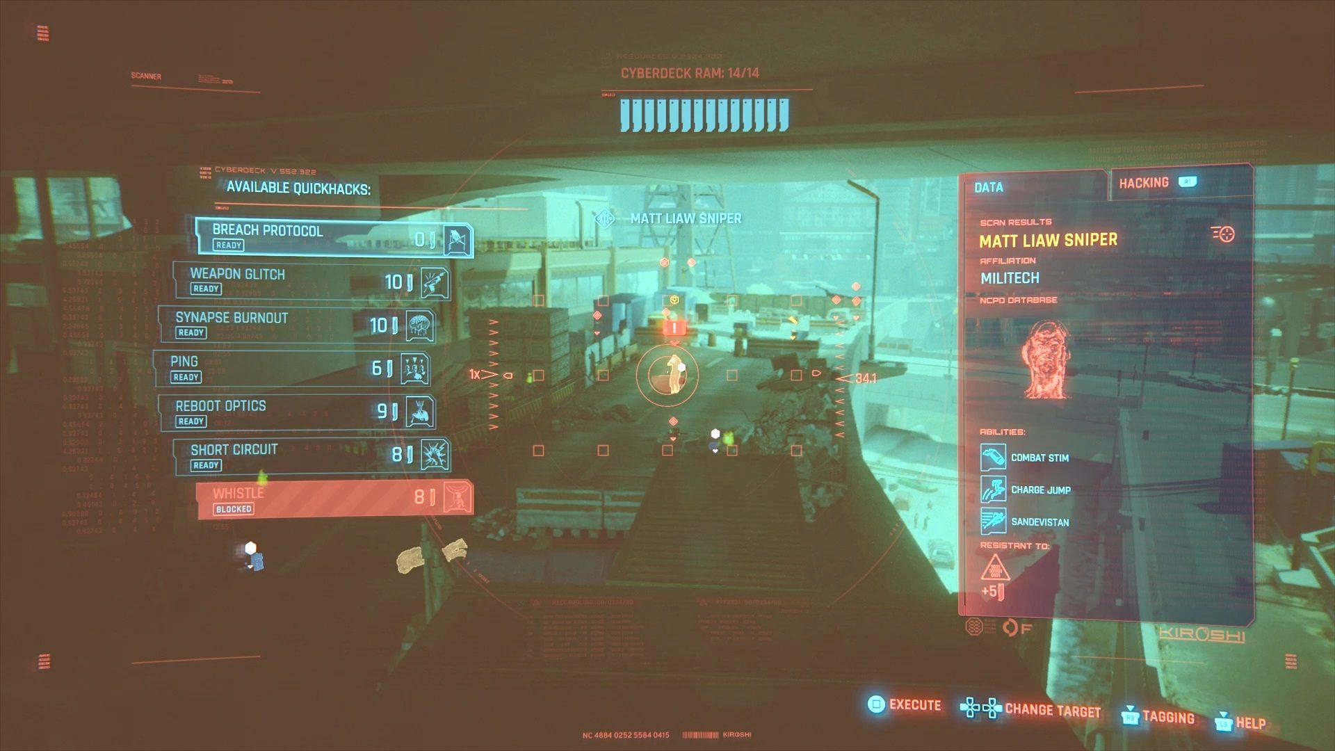 Cyberpunk 2077 Matt Liaw Sniper