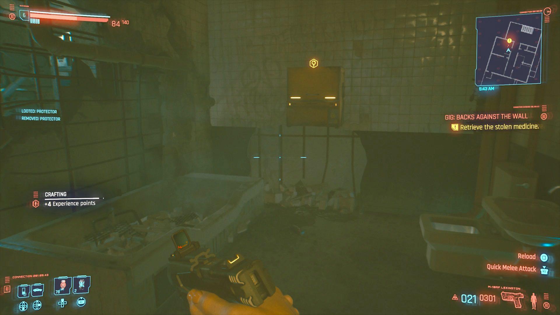 Cyberpunk 2077 Stolen Medicine Location