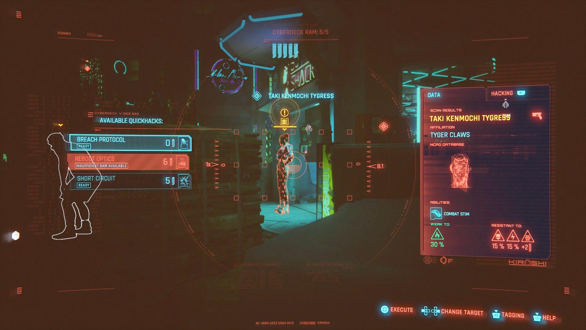 Cyberpunk 2077 Taki Kenmochi Location Guide