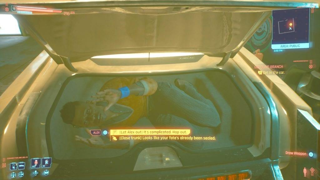 Cyberpunk 2077 Alex Pushkin