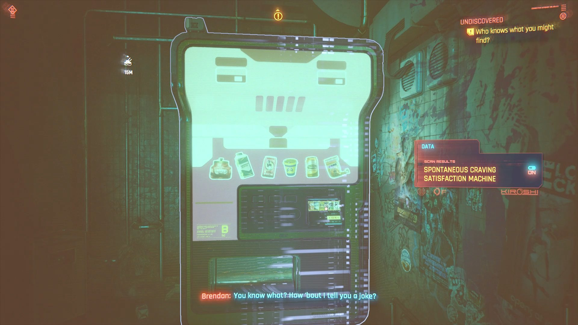 Cyberpunk 2077 Brendan Vending Machine