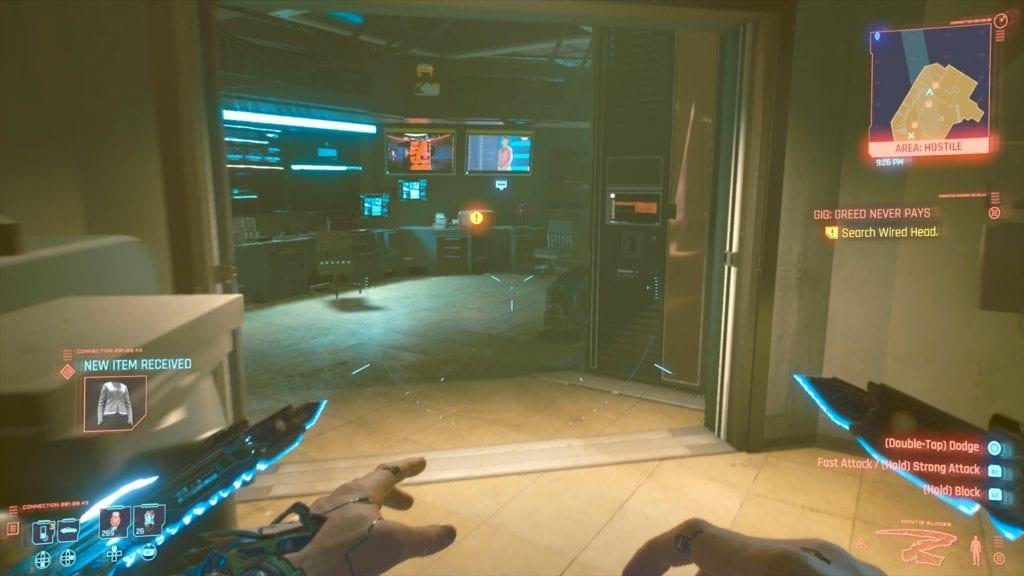 Cyberpunk 2077 Leah Gladen's Equipment