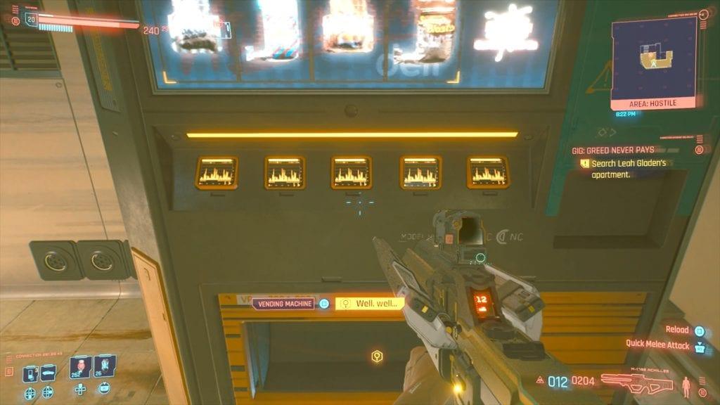 Cyberpunk 2077 Leah Gladen's Hidden Room